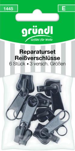 Gründl Reißverschluss Reparatur Set