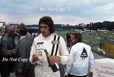 Tom Pryce UOP Shadow F1 Portrait British Grand Prix 1974 Photograph 1