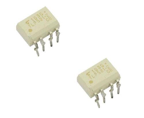 5PCS TLP521-2 DIP-8 Optoisolators Transistor Output TOSHIBA