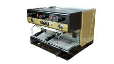 Gaggia E 90 Design Years 70 Coffee Espresso Machine In Good Condition
