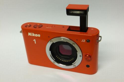 sistema cámara J 2 naranja B-Ware sin objetivamente Nikon 1 j2 carcasa//Body