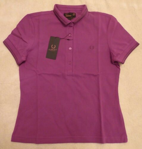 Neuf Bnwt Femme FRED PERRY TWIN TIPPED AMY Polo-Taille 8 £ 29.95 /& FREE POST