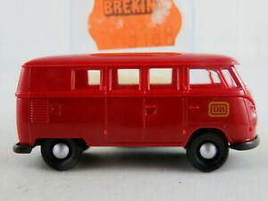 Brekina-3168-vw-combi-t1b-1959-034-DB-034-en-rouge-rubis-1-87-h0-Nouveau-Neuf-dans-sa-boite
