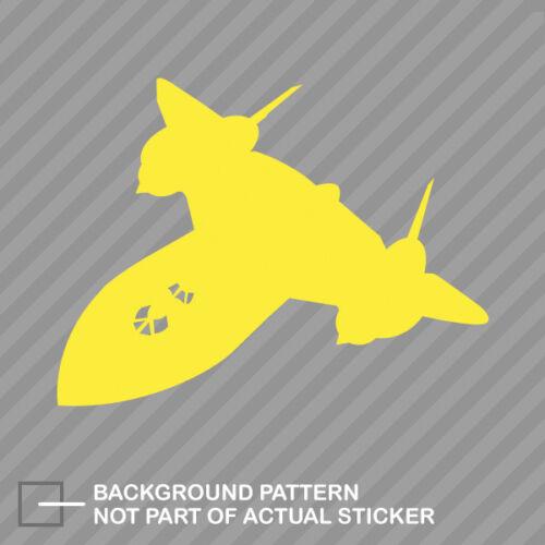 SR-71 Blackbird Sticker Decal Vinyl skunk works #2