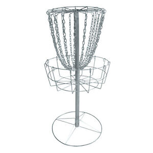 Titan-Disc-Golf-Catcher-Basket-Target-Portable-Steel-Chain-Practice-Frisbee-V2