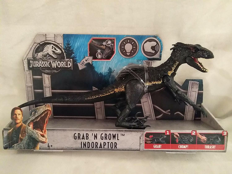 Jurassic World Grab'N Growl Indoraptor, Grab,  Chomp, Thrash   prezzi all'ingrosso