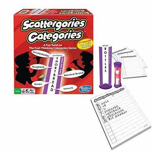 Scattergories Categories Us Import Acc New Ebay