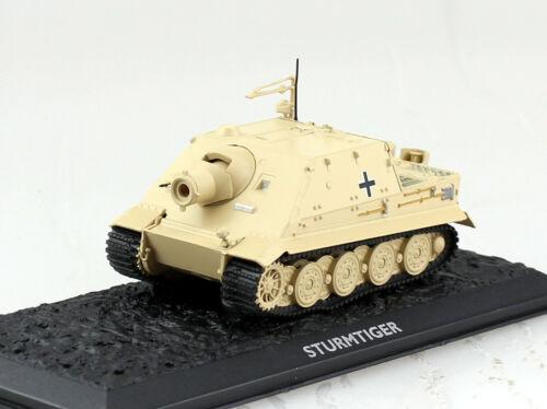 Panzer Sturmtiger beige Wehrmacht UT Fertigmodell 1:72 Altaya Modell