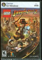 Lego Indiana Jones 2 The Adventure Continues Pc Game Brand & Factory Sealed