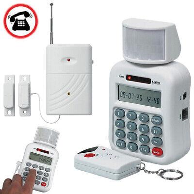 APP Steuerung Wifi GSM Alarm Funk Alarmanlage Haus Sicherheit GPRS Türklingel *