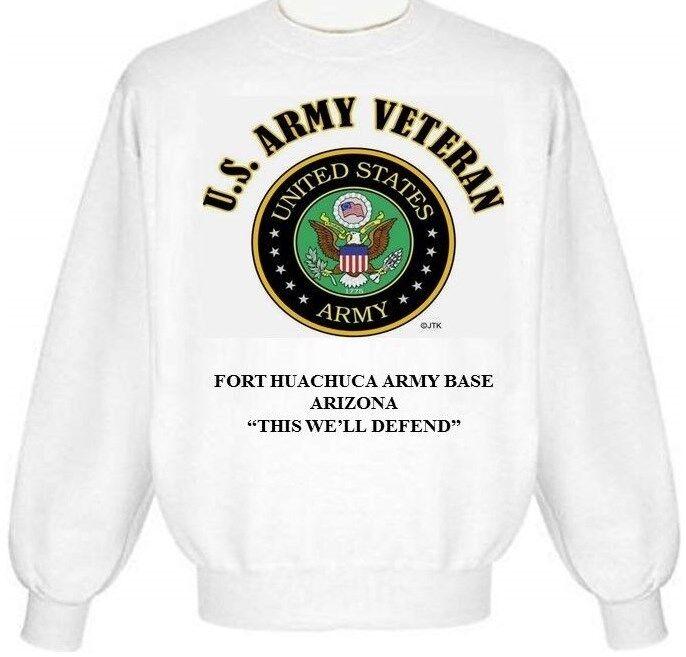 FORT HUACHUCA ARMY BASE  ARIZONA ARMY EMBLEM SWEATSHIRT