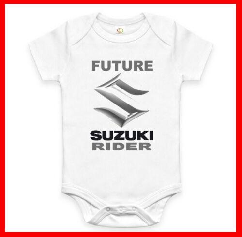 EXPLORE NOW! RARE NEW FUTURE SUZUKI DRIVER BABY CLOTHES FUNNY BODYSUIT ROMPER