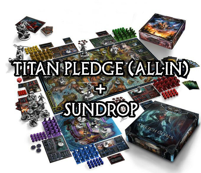 ● * * LORDS OF HELLAS * * ● ● ● Presale ✩ Titan (All-in) Pledge avec sundrop ✩ alleFemmed 506172