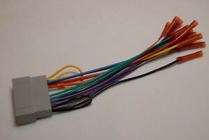 For select  dodge radio wiring harness adapter with