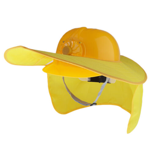 Safety Hard Hat with Full Brim Neck Sunshade for Summer Block the Sun