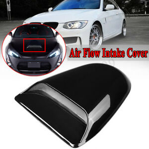 Universal Car Auto Roof Decorative Air Flow Intake Hood Scoop Vent Bonnet Cover