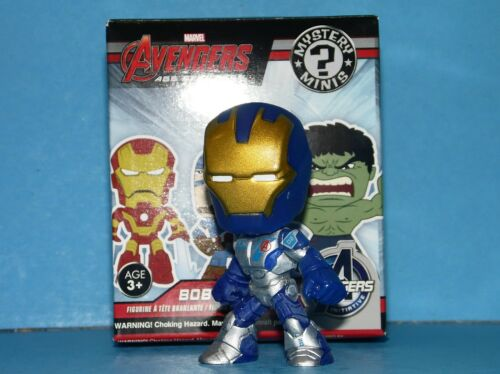 MARVEL BOBBLEHEAD AGE OF ULTRON  Mystery Minis Funko WAR MACHINE Blue 1//12