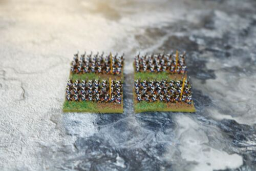 6mm Seven Years War French Infantry