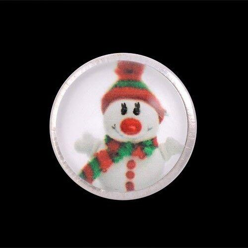 Andante pulsador button Chunk hombre de nieve gorra bufanda lana #4313 regalo