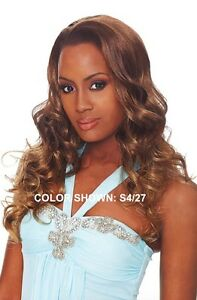OUTRE QUICK WEAVE RIHANNA LONG BIG CURLY STYLE HALF WIG 3 4 WIG  cccc8764986a