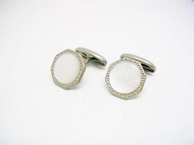 Art Deco Cufflinks double sided vintage Cuff Links Men Shirt Accessory Formal Wear Man Wedding Jewelry