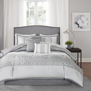 Beautiful Modern Chic Elegant Geometric Grey Charcoal