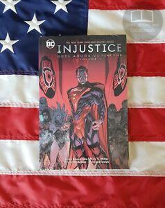 NEW-SEALED-Injustice-Gods-Among-Us-Vol-1-Year-5-The-DC-Comics-Hardback-Hardcover