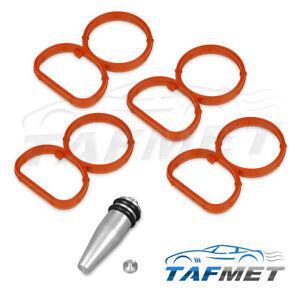 Drallklappen-Swirl-Flaps-Verschluss-Stopfen-Dichtung-Set-fuer-BMW-2-0-N47-Diesel