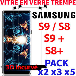 Protection-Ecran-Samsung-Galaxy-S9-S8-S9-S8-Plus-Film-Vitre-Verre-Trempe-Screen
