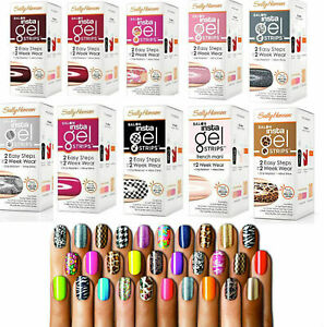 Sally-Hansen-Salon-Insta-Gel-Strips-requires-lamp-Choose-Your-shade-design