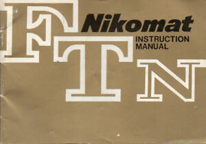 Nikomat-FTN-Instruction-Manual