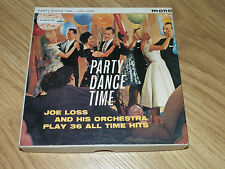 "Joe Loss ""Party Dance Time"" 3 1/4 i.p.s Twin Track Mono Tape Record"