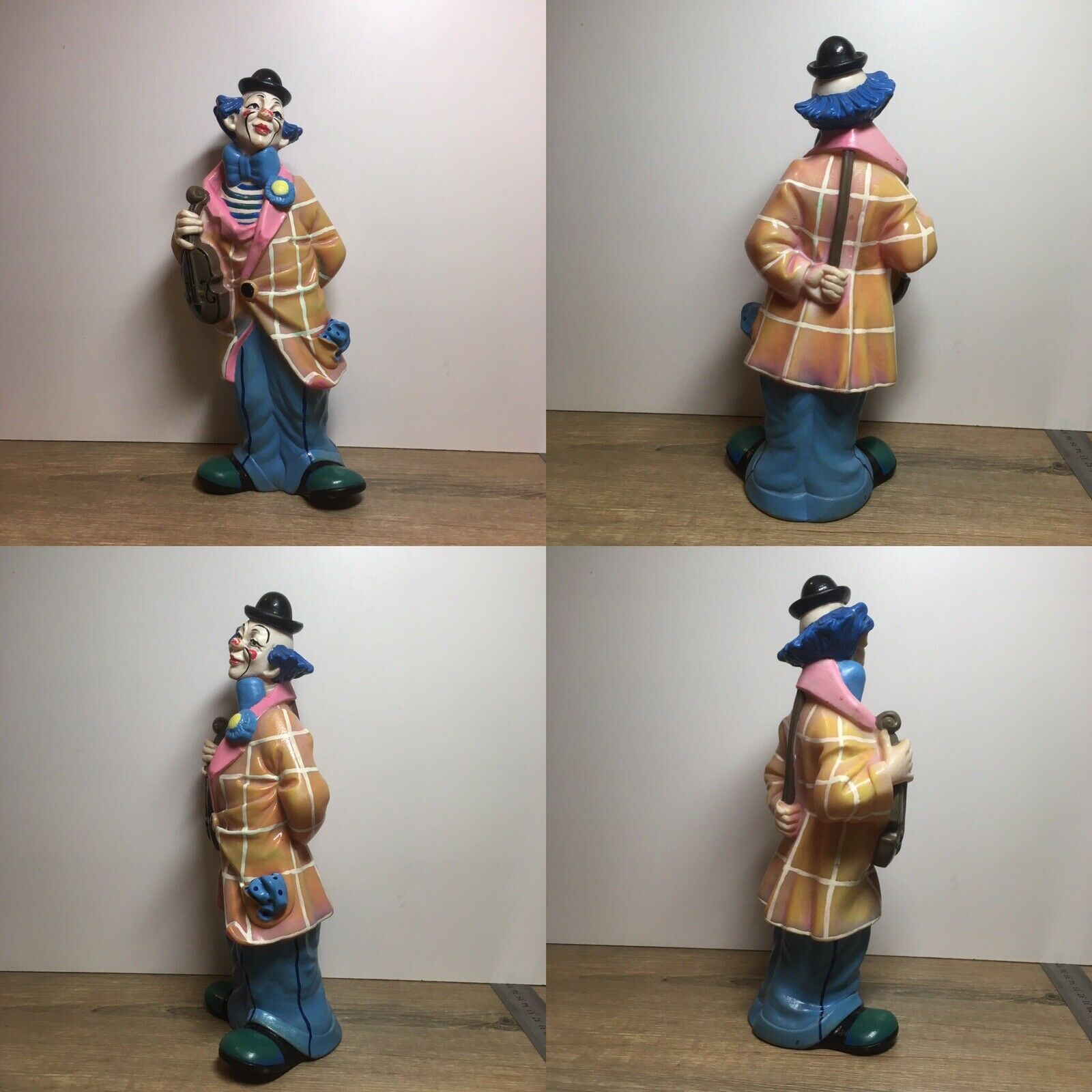 Rare Vintage Soviet Rubber Toy Clown (Made in USSR)