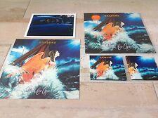 ERASURE 'WORLD BE GONE' Ltd Edition Orange LP+CD/download code/12' art print+...