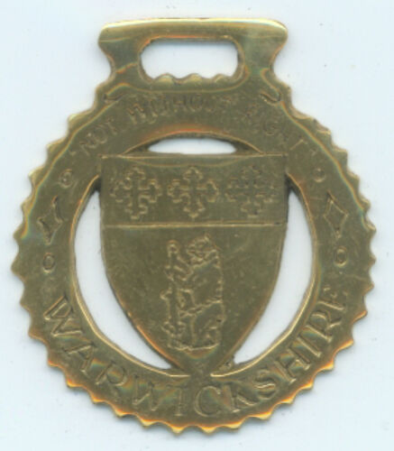 WARWICKSHIRE    Horse brass N726