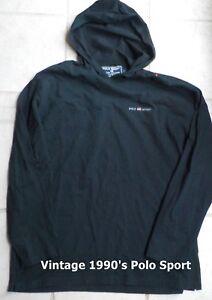 Vintage-POLO-SPORT-Ralph-Lauren-USA-Flag-Spell-Out-Hoodie-Sweatshirt-Black-Large