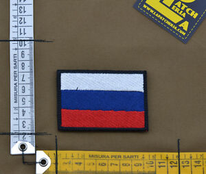 Ricamata-Embroidered-Patch-034-Russia-Flag-034-with-VELCRO-brand-hook