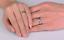 Anello-Fede-Fedina-Fascia-Spesso-6-mm-Uomo-Donna-Unisex-Acciaio-Love-Idea-Regalo miniatura 7