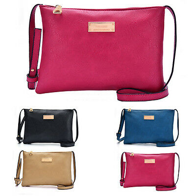 Hot Women Leather Handbag Shoulder Tote Messenger Hobo Satchel Crossbody Bag