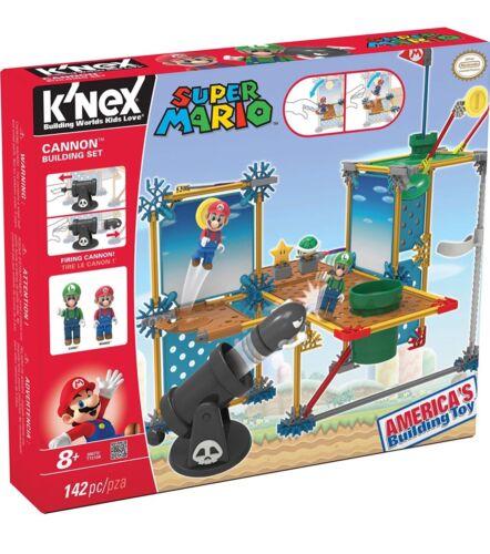 Knex Super Mario Cannon Building Set