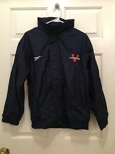 University-of-Virginia-UVA-Cavaliers-Lacrosse-Reebok-Team-Issued-Jacket-Small