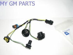s l300 gmc sierra head light wiring harness 2007 2013 new oem 15841610 ebay  at bayanpartner.co