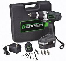 18v Cordless Electric Rechargeable Drill Driver Kit Portable Power Hand Tool NEW