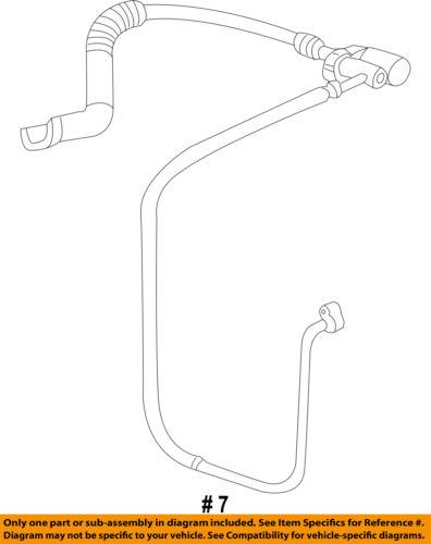 GM OEM-A//C AC Hose Line Pipe 22876350