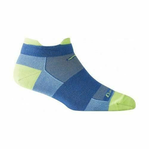 DARN TOUGH COOLMAX WOMENS 1020 Aqua  No Show Tab Ultra light Socks S M L