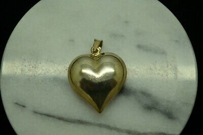 Details about  /Sterling Silver .925 Heart Pendant charm