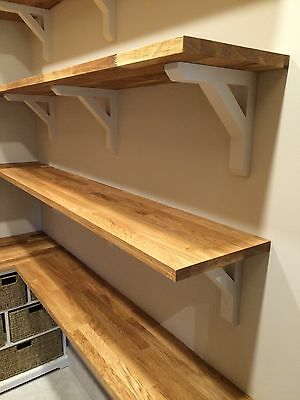 Handmade Wooden Shelf Brackets Gallows