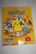 POKEMON Gelbe, Blaue und Rote Edition  original Spielberater