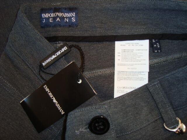 NWT EMPORIO ARMANI JEANS PANTALONE Stretch Skinny Pant Made in Romania Sz 6