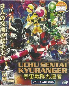 Estatuillas-Sentai-kyuranger-COMPLETA-TV-Series-DVD-box-set-1-48-Epis